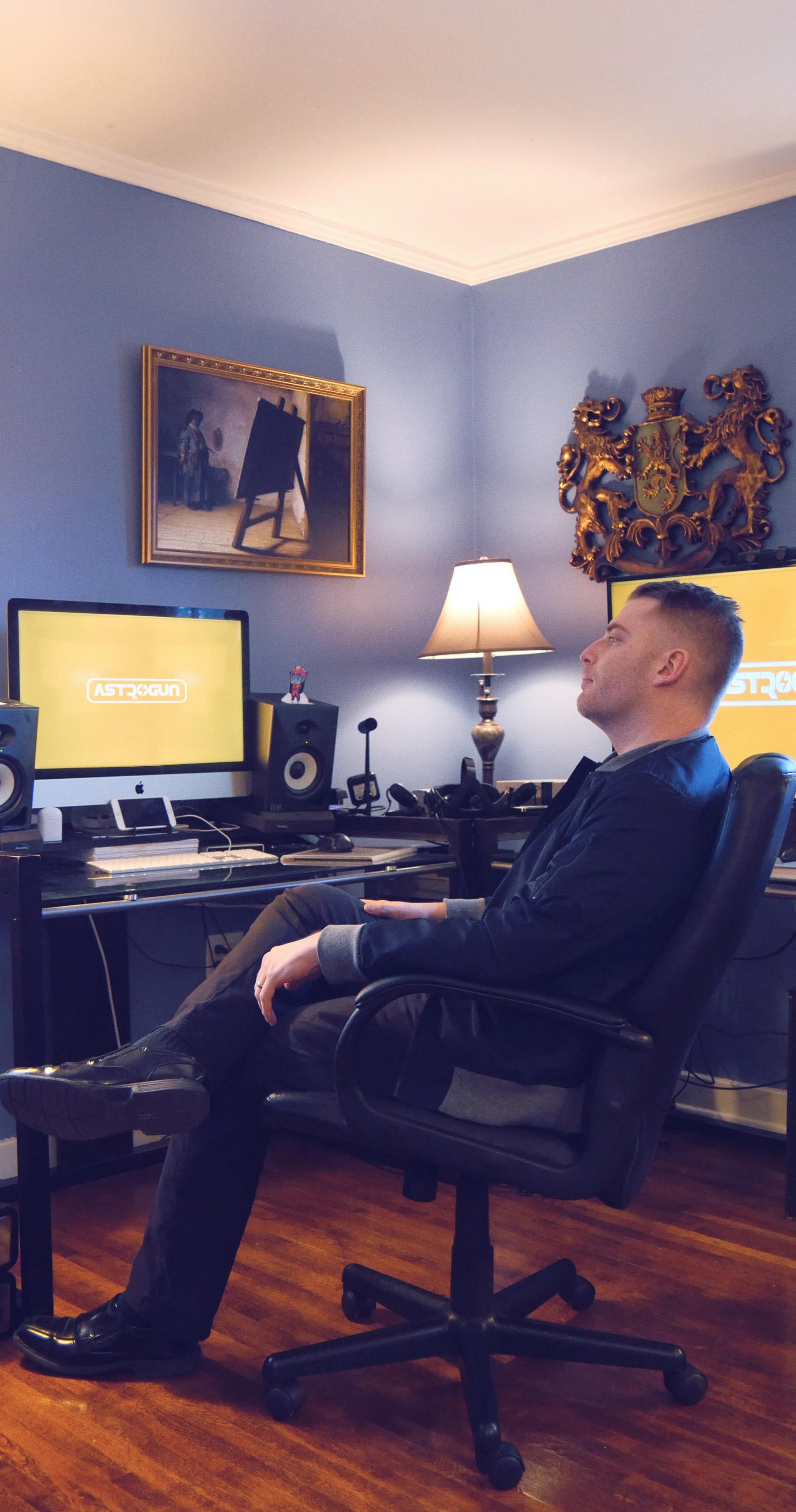 ASTROGUN - Studio - Xander Davis