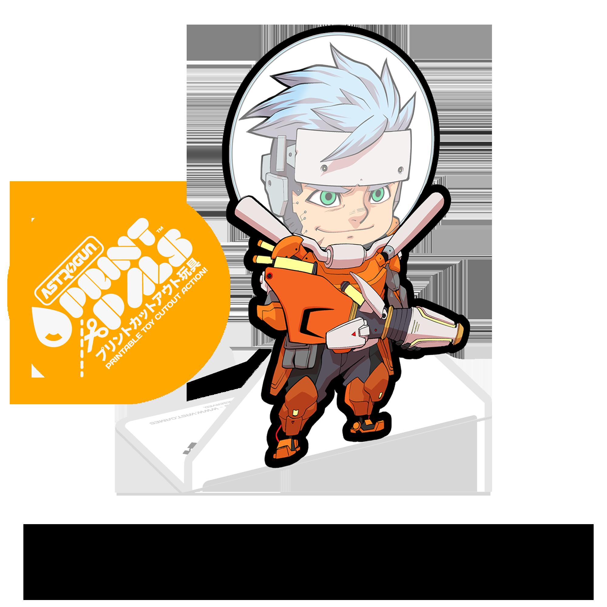 Astrogun™ PrintPal™ - Enzo™