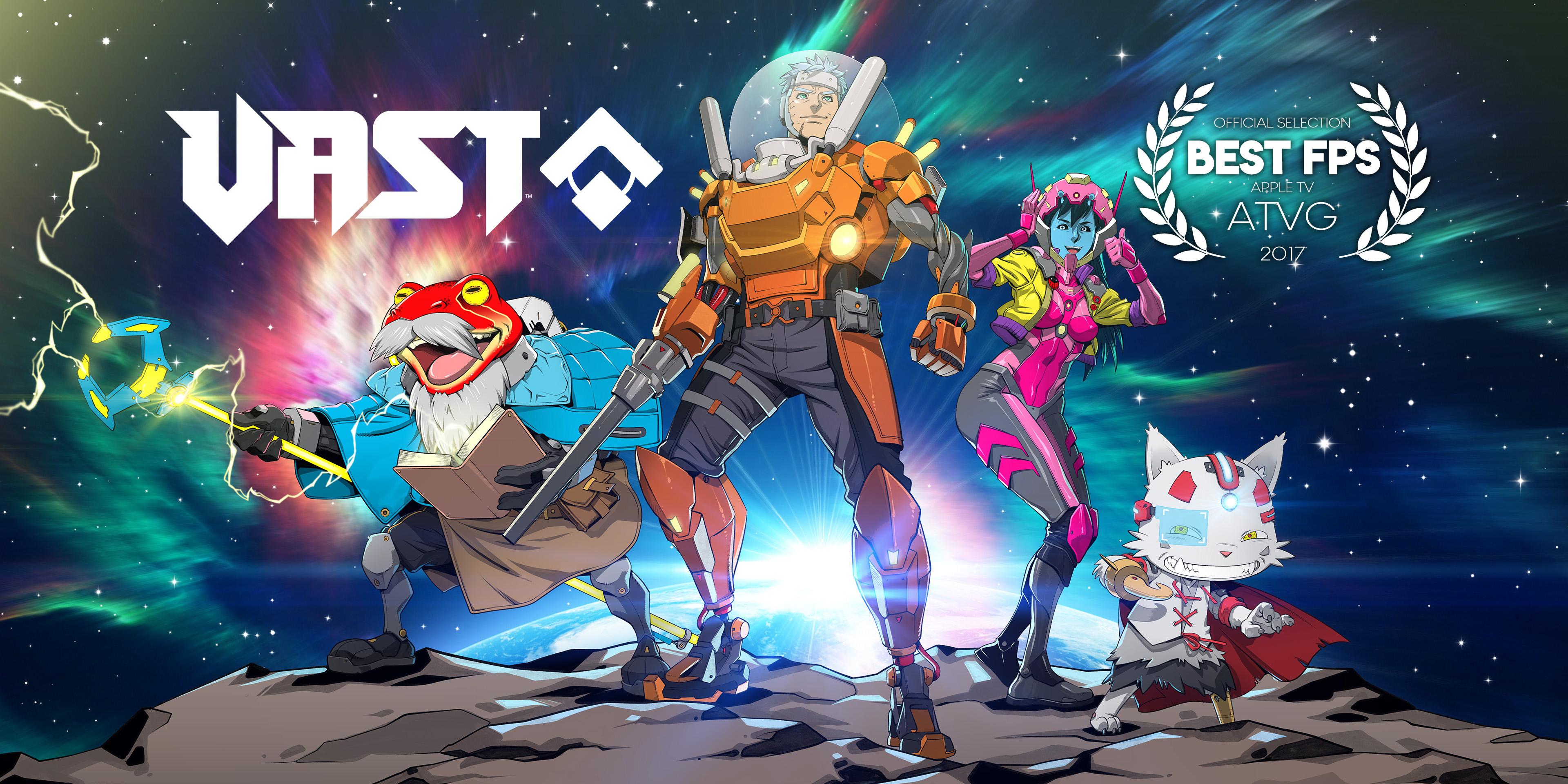 VAST™ - Key Image with Award