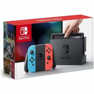 Nintendo Switch - Blue/Red - Box