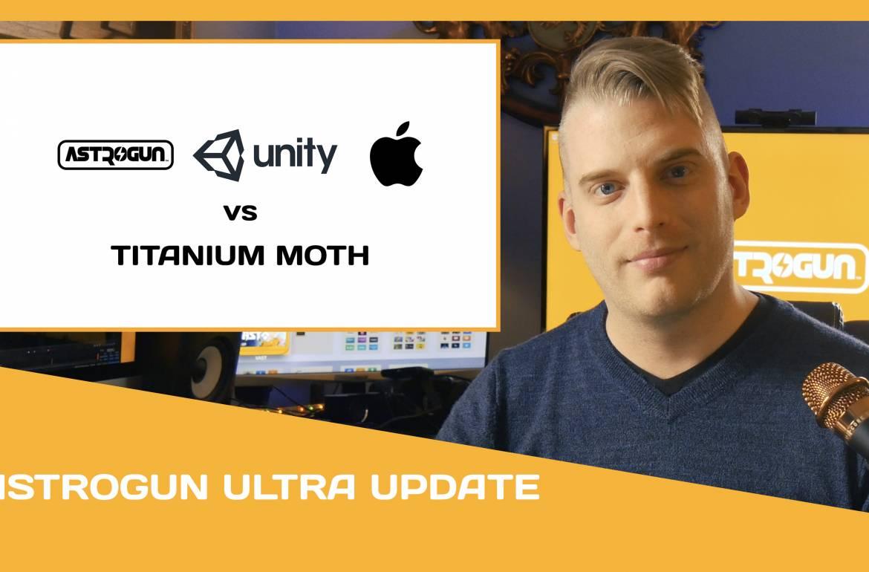 (Video Update) Astrogun, Unity, & Apple Team Up to Solve 'Titanium Moth' Bug Affecting iOS & tvOS Unity Games