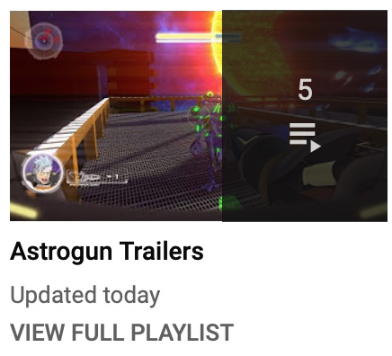 Astrogun Shows - Trailers