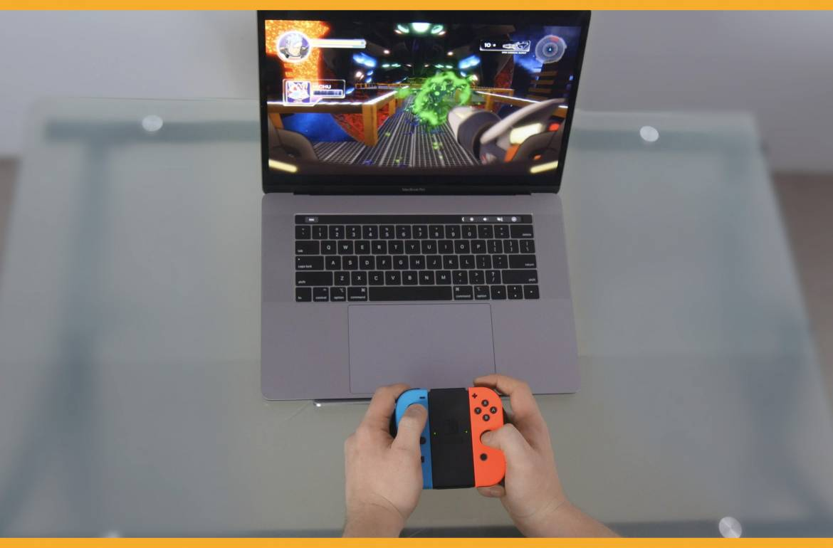 Tutorial Video: Gamepad Pairing with macOS: Nintendo Switch Joy-Cons & Grip