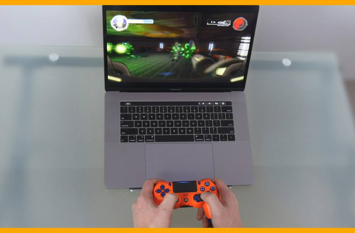Tutorial Video: Gamepad Pairing with macOS: PS4 DualShock 4