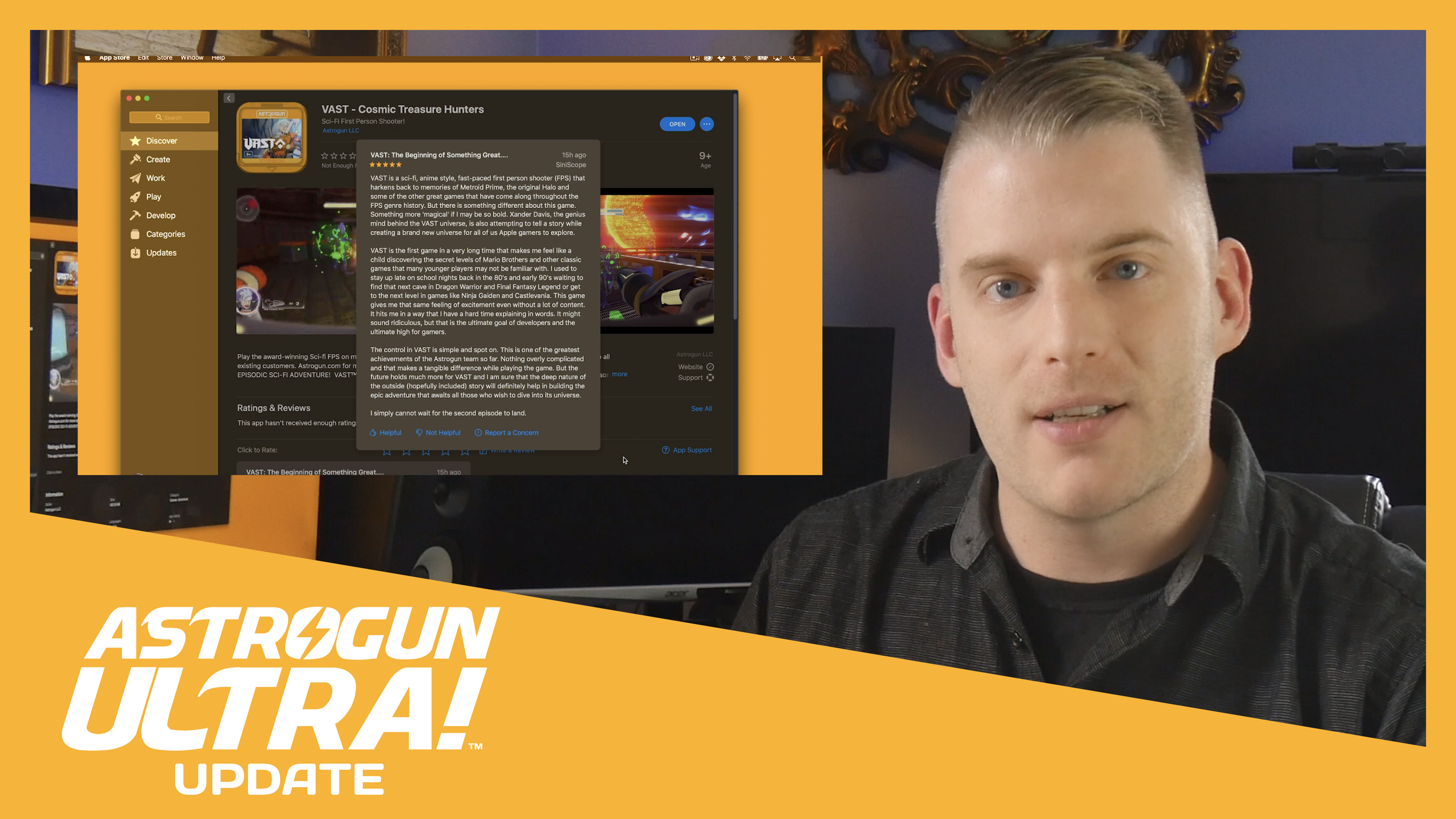 (Video) VAST Launches on macOS, Joining iOS, tvOS, & XL Let's Play Soon!