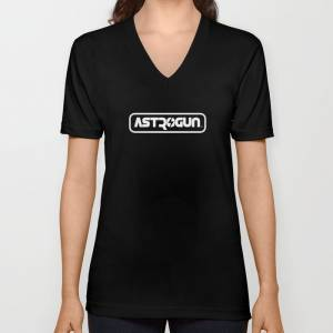 Astrogun V-Neck T-Shirt